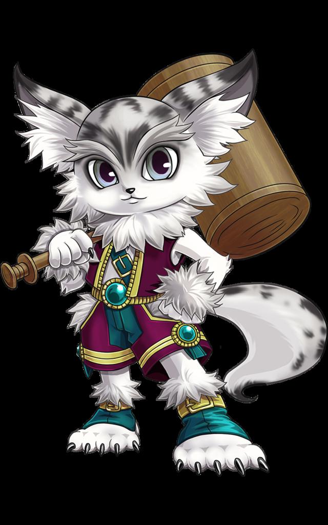 パラドサケル 白 猫
